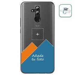 Personaliza tu Funda Pc + Tpu 360 con tu Fotografia para Huawei Mate 20 Lite dibujo personalizada