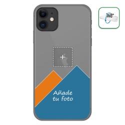 Personaliza tu Funda Pc + Tpu 360 con tu Fotografia para Iphone 11 (6.1) dibujo personalizada