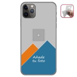 Personaliza tu Funda Gel Mate con tu Fotografia para Iphone 11 Pro (5.8) dibujo personalizada