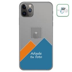 Personaliza tu Funda Pc + Tpu 360 con tu Fotografia para Iphone 11 Pro (5.8) dibujo personalizada
