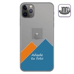 Personaliza tu Funda Gel 100% Transparente con tu Fotografia para Iphone 11 Pro Max (6.5) dibujo personalizada