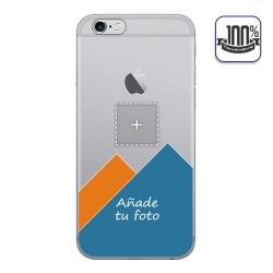 Personaliza tu Funda Gel 100% Transparente con tu Fotografia para Iphone 6 / 6S dibujo personalizada