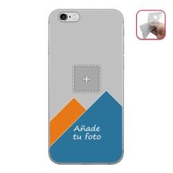 Personaliza tu Funda Gel Mate con tu Fotografia para Iphone 6 Plus / 6S Plus dibujo personalizada