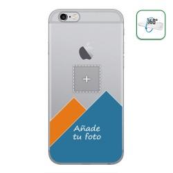 Personaliza tu Funda Pc + Tpu 360 con tu Fotografia para Iphone 6 Plus / 6S Plus dibujo personalizada