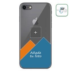 Personaliza tu Funda Pc + Tpu 360 con tu Fotografia para Iphone 7/8 dibujo personalizada