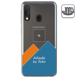 """Personaliza tu Funda Gel 100% Transparente con tu Fotografia para Samsung Galaxy A20e 5.8"""" dibujo personalizada"""