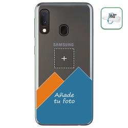 "Personaliza tu Funda Pc + Tpu 360 con tu Fotografia para Samsung Galaxy A20e 5.8"" dibujo personalizada"