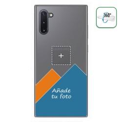 Personaliza tu Funda Pc + Tpu 360 con tu Fotografia para Samsung Galaxy Note10 dibujo personalizada
