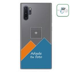 Personaliza tu Funda Pc + Tpu 360 con tu Fotografia para Samsung Galaxy Note10+ dibujo personalizada