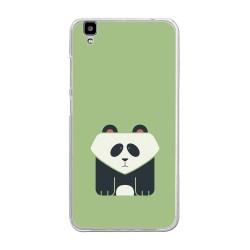 """Funda Gel Tpu para Bluboo Maya 5.5"""" Diseño Panda Dibujos"""