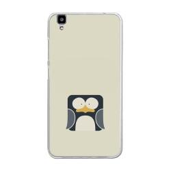 """Funda Gel Tpu para Bluboo Maya 5.5"""" Diseño Pingüino Dibujos"""