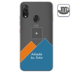 Personaliza tu Funda Gel 100% Transparente con tu Fotografia para Zte Blade V10 Vita / Orange Neva Play dibujo personalizada