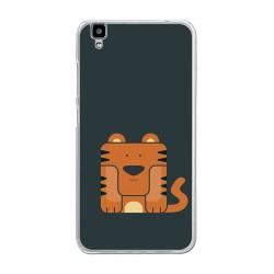 """Funda Gel Tpu para Bluboo Maya 5.5"""" Diseño Tigre Dibujos"""