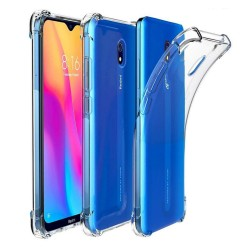 Funda Gel Tpu Anti-Shock Transparente para Xiaomi Redmi 8A