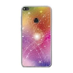 Funda Gel Tpu para Huawei P8 Lite 2017 Diseño Abstracto Dibujos