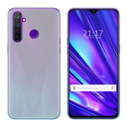 Funda Gel Tpu para Realme 5 Pro Color Transparente