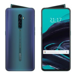 Funda Gel Tpu Fina Ultra-Thin 0,5mm Transparente para Oppo Reno 2