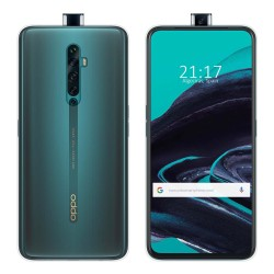 Funda Gel Tpu Fina Ultra-Thin 0,5mm Transparente para Oppo Reno 2Z