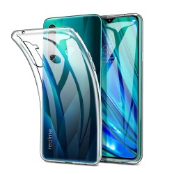 Funda Gel Tpu Fina Ultra-Thin 0,5mm Transparente para Realme 5 Pro