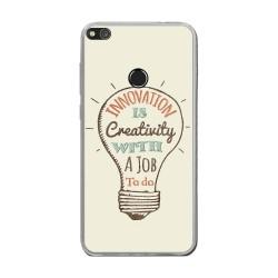 Funda Gel Tpu para Huawei P8 Lite 2017 Diseño Creativity Dibujos