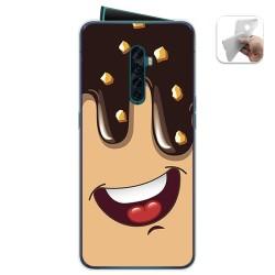 Funda Gel Tpu para Oppo Reno 2 diseño Helado Chocolate Dibujos
