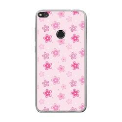Funda Gel Tpu para Huawei P8 Lite 2017 Diseño Flores Dibujos
