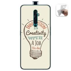 Funda Gel Tpu para Oppo Reno 2Z diseño Creativity Dibujos
