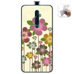 Funda Gel Tpu para Oppo Reno 2Z diseño Primavera En Flor Dibujos