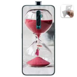 Funda Gel Tpu para Oppo Reno 2Z diseño Reloj Dibujos