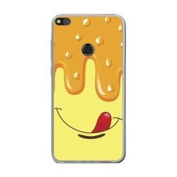 Funda Gel Tpu para Huawei P8 Lite 2017 Diseño Helado Vainilla Dibujos