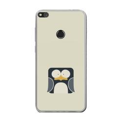 Funda Gel Tpu para Huawei P8 Lite 2017 Diseño Pingüino Dibujos