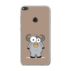 Funda Gel Tpu para Huawei P8 Lite 2017 Diseño Toro Dibujos