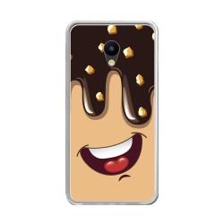 "Funda Gel Tpu para Meizu M5 5.2"" Diseño Helado Chocolate Dibujos"