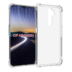 Funda Gel Tpu Anti-Shock Transparente para Oppo A5 2020
