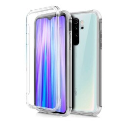 Funda Completa Transparente Pc + Tpu Full Body 360 para Xiaomi Redmi Note 8 Pro
