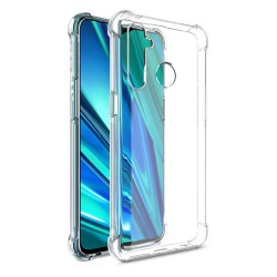 Funda Gel Tpu Anti-Shock Transparente para Realme 5 Pro