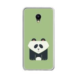 """Funda Gel Tpu para Meizu M5 5.2"""" Diseño Panda Dibujos"""