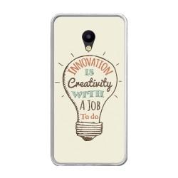 Funda Gel Tpu para Meizu M5 Note Diseño Creativity Dibujos