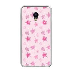 Funda Gel Tpu para Meizu M5 Note Diseño Flores Dibujos