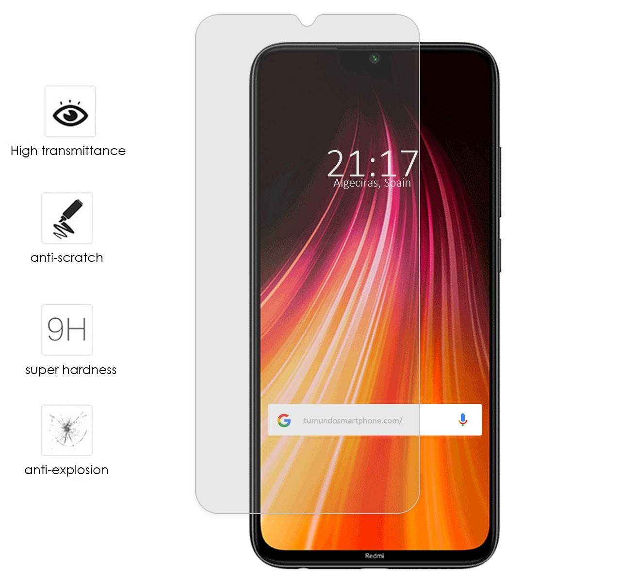"4G 5.5/"" Protector de Cristal de Vidrio Templado para Lenovo K8 Note"