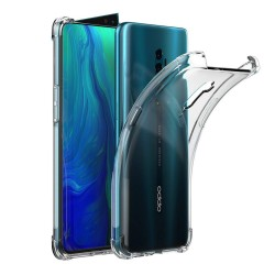 Funda Gel Tpu Anti-Shock Transparente para Oppo Reno 2
