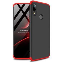 Funda Carcasa GKK 360 para Huawei Y6 2019 / Y6s 2019 Color Negra / Roja