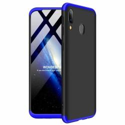Funda Carcasa GKK 360 para Samsung Galaxy A40 Color Negra / Azul