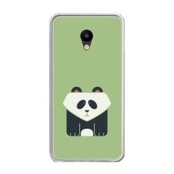 Funda Gel Tpu para Meizu M5 Note Diseño Panda Dibujos