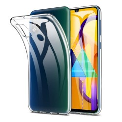 Funda Gel Tpu Fina Ultra-Thin 0,5mm Transparente para Samsung Galaxy M30s / M21