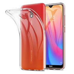Funda Gel Tpu Fina Ultra-Thin 0,5mm Transparente para Xiaomi Redmi 8A