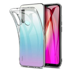 Funda Gel Tpu Fina Ultra-Thin 0,5mm Transparente para Xiaomi Redmi Note 8