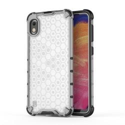 Funda Tipo Honeycomb Armor (Pc+Tpu) Transparente para Samsung Galaxy A10
