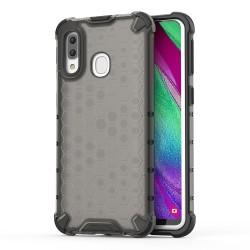 Funda Tipo Honeycomb Armor (Pc+Tpu) Gris para Samsung Galaxy A40