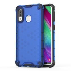 Funda Tipo Honeycomb Armor (Pc+Tpu) Azul para Samsung Galaxy A40